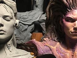 萨拉凯莉根人类雕像