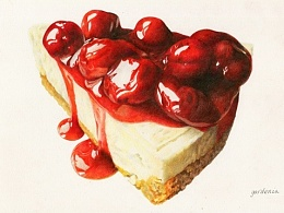 彩铅 蛋糕 (阿诗+艺雅)