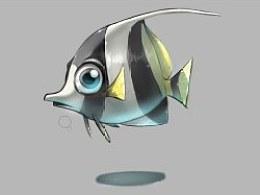 画鱼的小教程(很长时间没用SAI画东西了最近练练手自己yy一下后面有步骤)