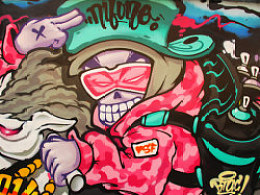 graffiti 练习公仔~