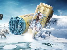 冷感冰巾首页轮播海报