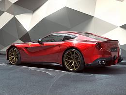 Ferrari F12 CGI摄影