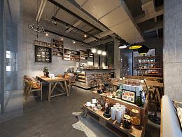 -咖啡吧- 公司作品