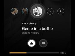 音乐App界面及动画效果展示