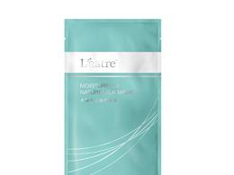 化妆品面膜包装袋修图效果图