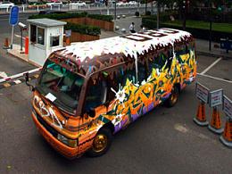 ABS CREW x CBD(北京中央商务区)-涂鸦巴士改造计划