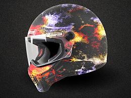 LASOMBRA限量产品开发—私人订制哈雷机车头盔