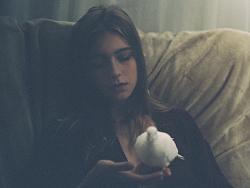 少女与白鸽 by lvan六世
