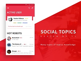 话题创意社交App-YOOT