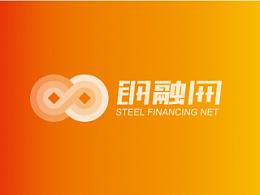 钢融网logo提案设计