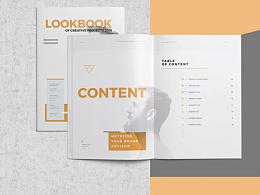 53tao毕业设计作品集模板产品目录宣传画册图册排版id素材模板源文件