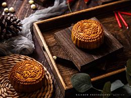 山竹配月饼