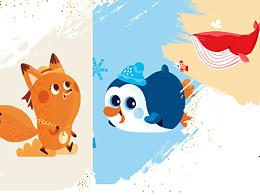 与MYFUN 沐枫合作的儿童伞插画设计