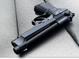 枪械,手枪,矢量