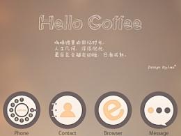 手机图标——hello coffee