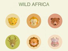 野生动物主题图标