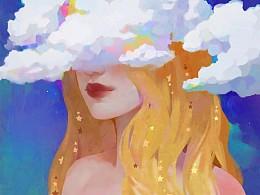 云间少女-黄头发的妹子