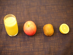 朱春兰食养频道之创意水果系列 第九季 苹果猕猴桃汁