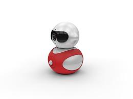 """""""葫芦娃""""智能云台摄像头#智能摄录产品工业设计"""