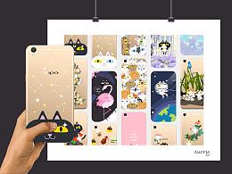 手机壳合集-群猫系列-第一弹