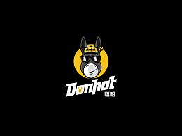 潮流餐饮品牌-DONHOT噹哈 vis