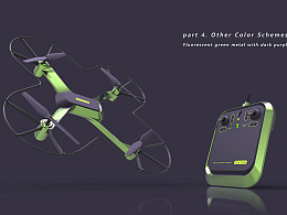 [商业设计项目]四轴无人机概念设计(外销、已投产)