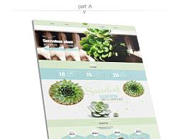 井田多肉植物首页设计
