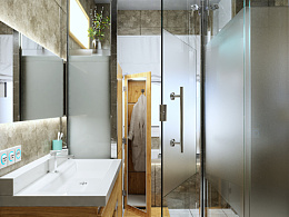 浴室 | CGI