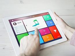 Pixruner ipad端界面设计