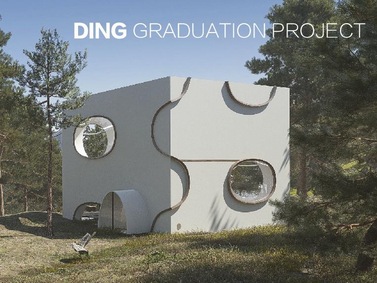 毕设的建筑室内设计风格--生日派园门建筑设计作品图片