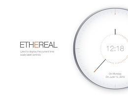 Ethereal 缥缈  [表盘设计]