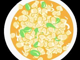 玉米粒 豆类