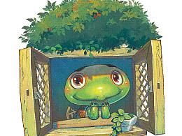 托尼龟的夏天【童画世界 by 雪娃娃】