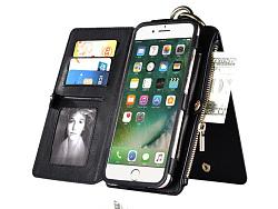 多功能钱包手机皮套详情描述  by 果派视觉设计