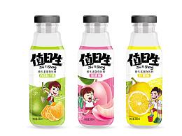 近水型果味饮料包装