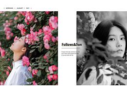 floowers & sun