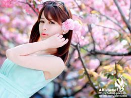 2014上海樱花祭 晚樱盛放,缤纷色彩 阿宝出品