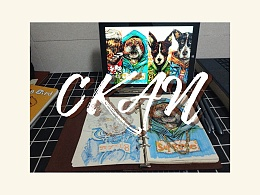 CKAN动物系列插画
