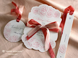 让纸品,每次变得美好一点点~~~~ 函情凸活版喜帖 @纸品的美好凸版社 letterpress作品