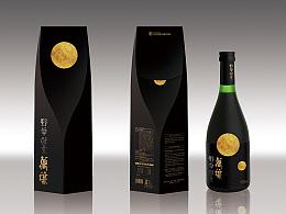 给日本万叶酵素做的包装