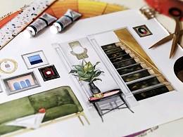 《办公室之家》文创产品设计图原稿