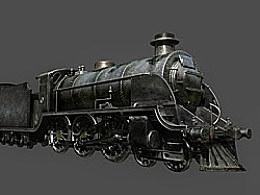 写实蒸汽火车