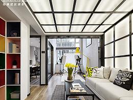 独尊建筑摄影:loft小型办公空间