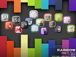 手机ICON设计:RAINBOW