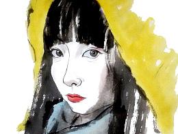 微信红包画肖像