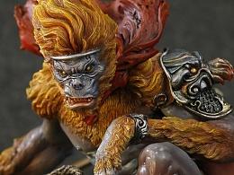 末那x寺田克也丨《大猿王》手办出世!华丽魔性暴力美学