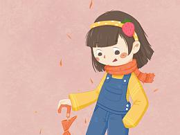 #小女孩#