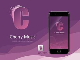 Cherry music app,音乐app设计
