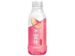 农夫山泉水系列果味饮品字体/包装/海报设计练习