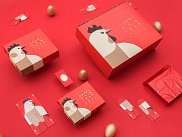 """网易严选""""鸡生蛋 蛋生金""""新年礼盒设计"""